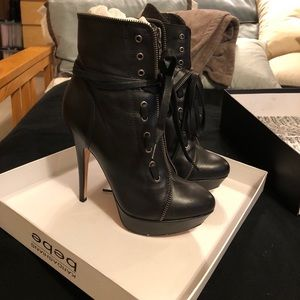 Bebe Kardashian's collection ankle booties